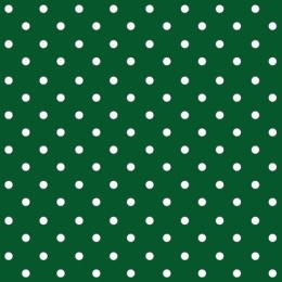 Obrúsky PAW L 33x33cm Dots Dark Green