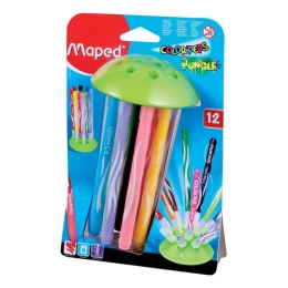 "Fixy MAPED ""COLOR`PEPS JUNGLE"", 12 ks"