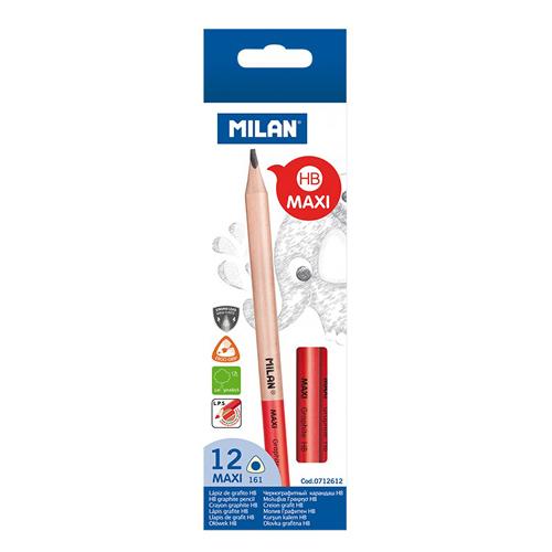 Ceruzka MILAN trojhranná MAXI HB