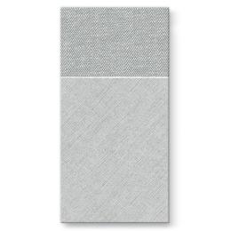Vrecká na príbory PAW AIRLAID 40x40cm Bamberg Grey, 25 ks/bal