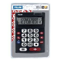 Kalkulačka MILAN 12-miestna 151712 čierna