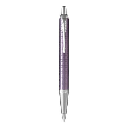 Pero guľôčkové PARKER IM Premium Dark Violet CT -M- blue