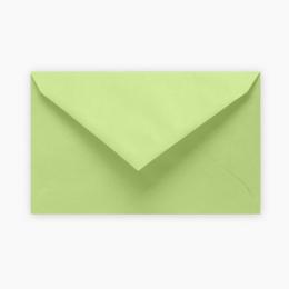 Farebná obálka 120 x 195 mm, svetlo zelená 6ks