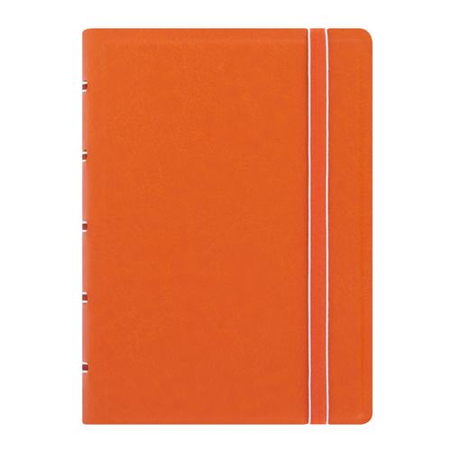 Poznámkový blok Filofax vreckový s organizérom, oranžový