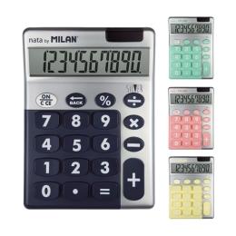Kalkulačka MILAN stolová 10-miestna Silver