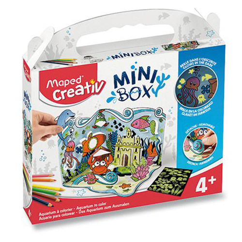 Sada MAPED CREATIV Mini Box Akvárium
