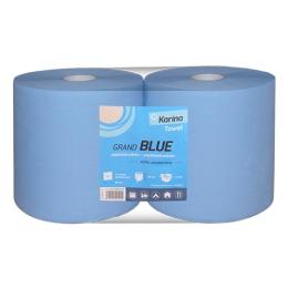 Utierka priemyselná KARINA GRAND BLUE, 2-vrstvové / 920 útržkov, 2 ks/bal