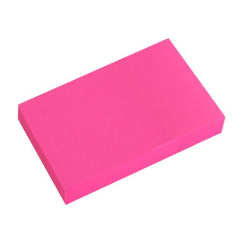 Blok lep. NEON 50 x 76 mm - ružový