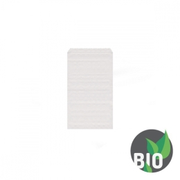 Lekárenské papierové vrecká biele 8x11 cm /4000 ks/