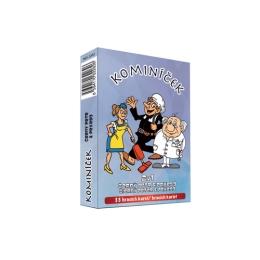 Karty hracie - 2v1 Čierny Peter a Pexeso - Kominár