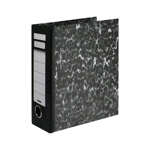 Poradač pákový Econom A5 na výšku 80 mm, čierny
