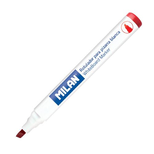 Popisovač MILAN Whiteboard Marker 1-4 mm, červený