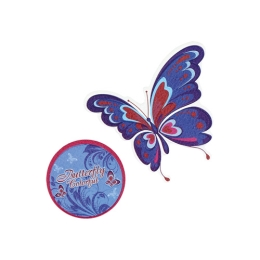 Sticker na tašku Butterfly, sada 2 ks
