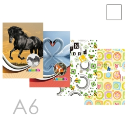 Pamätník čistý A6 (56-listový) 90g