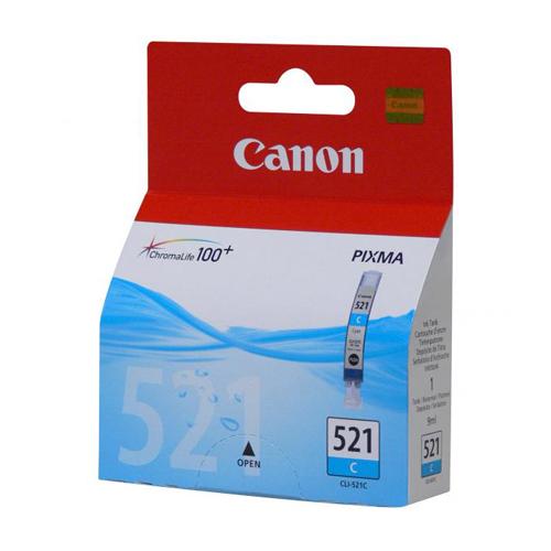 Atrament Canon CLI-521, cyan