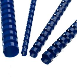 Hrebene plastové 22 mm modré