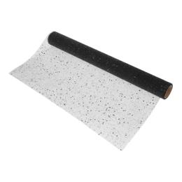 Látka dekoračná/organza 200x38 cm - čierna/glitter, 1ks