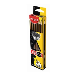 "Ceruzka grafitová MAPED ""BLACK'PEPS"" 2B 1ks"