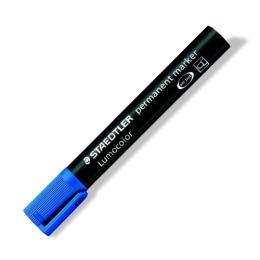 """Permanentný popisovač, 2 mm, kuželový hrot, STAEDTLER """"Lumocolor 352"""", modrý"""
