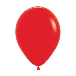 Balón Solid 28 cm, červený /100ks/