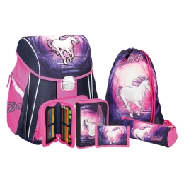 School bag - 5-piece set, START Magic Unicorn