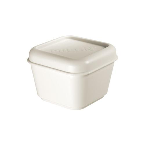 Box na desiatu MILAN 0,33 l White