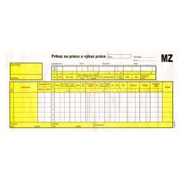 Príkaz na prácu a výkaz práce 2/3 (271)