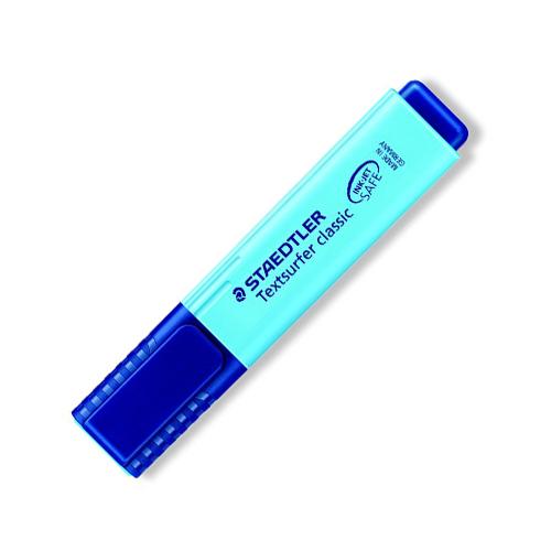Zvýrazňovač, 1-5 mm, STAEDTLER, modrý