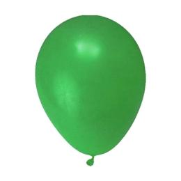 Balón M 25 cm, zelené /100 ks/