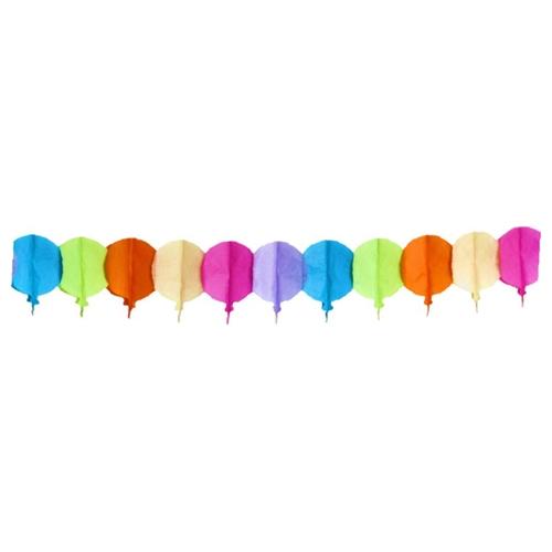 Girlanda papierová Balóniky 4 m