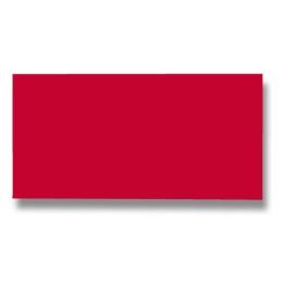 Listov.karta CF - 106x213 mm, červená 210g (25ks)