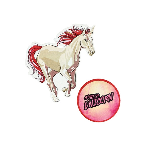 Sticker na tašku Magic Unicorn, sada 2 ks
