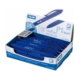 Pero guľôčkové MILAN P1 Touch 1,0mm - modré