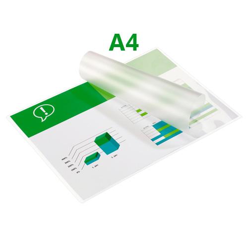 Laminovacie fólie za tepla A4, 80 mikr,lesklá, 100ks/bal