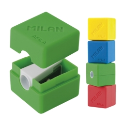 Strúhadlo plastové MILAN Cubic