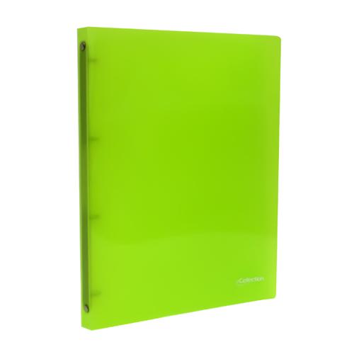 Poradač krúžkový PP (4-krúžkový) A4, zelený