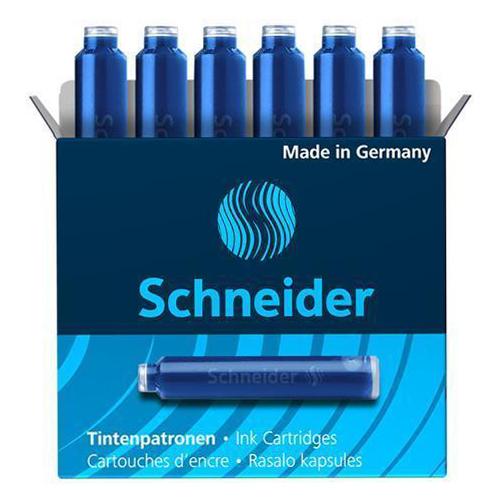 Bombičky náhradné Schneider, 6 ks/modré