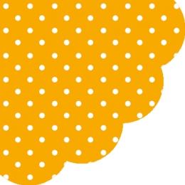 Obrúsky PAW R 32 cm Dots Orange