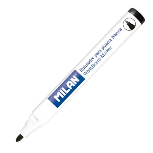 Popisovač MILAN Whiteboard Marker 4,7 mm, čierny
