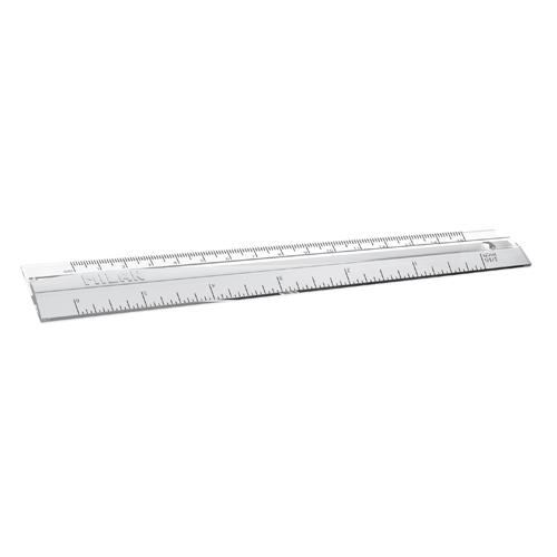 Pravítko transparentné MILAN 15 cm