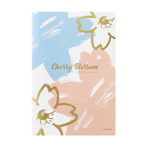 Univerzálny diár M&G Cherry Blossom 125x185 mm, 96-listový