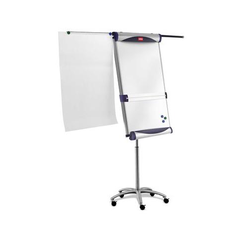 Flipchartová tabuľa Piranha, mobilná, 70x100 cm