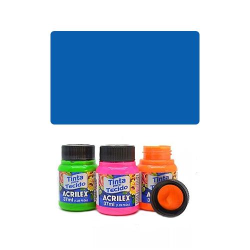 ACR Farba na textil 37ml, Fluorescent Blue 109