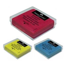 Guma Faber-Castell plastická farebná v krabičke