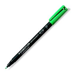"""Permanentný popisovač, OHP, 0,6 mm, STAEDTLER """"318 F"""", zelený"""