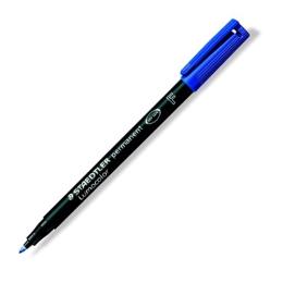 """Permanentný popisovač, OHP, 0,6 mm, STAEDTLER """"318 F"""", modrý"""