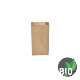 Vrecká desiatové pap. - hnedé 1 kg (12+5 x 24 cm) [500 ks]
