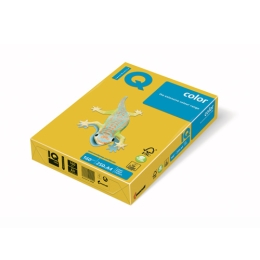 Kopírovací papier A4 IQ 160g color intenzívne žltý