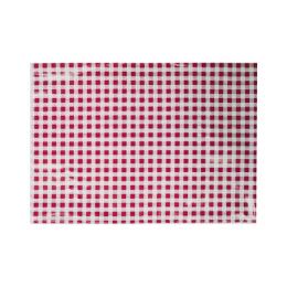 Obrus na výtvarnú výchovu 65x50 cm červeno-biely