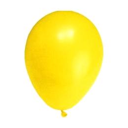 Balón M 25 cm, žltý /100 ks/